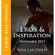 Eros & Inspiration TeleSeries - MP3 Recordings - November 2015